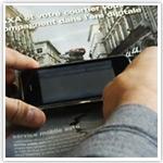 iPhone bruges i trykte reklamer