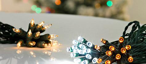Spar på din julelyskæde