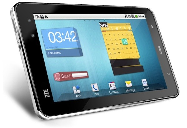 Android tablet – ZTE Light
