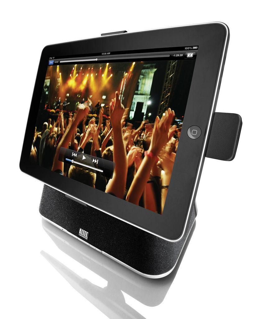 Altec Lansing introducere prisvindende dock til iPad
