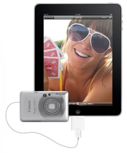 Overfør billeder til din iPad med camera connection kit