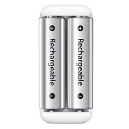Tag hensyn til miljøet med lader og genopladeligbatterier fra Apple