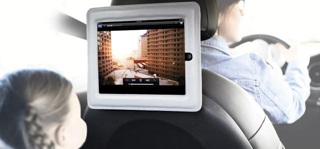 Se film på bagsædet af din bil med Griffin Cinema seat og din iPad!