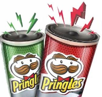 Pringles Højtalere