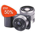 Sony Nex-3 til halv pris