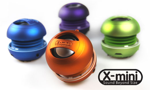 Transportable minihøjttalere i nye farver