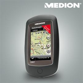 Udendørs navigationssystem fra Medion