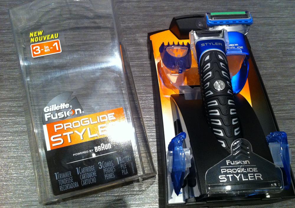 Få styr på dit skæg med Gillette Fusion ProGlide Styler